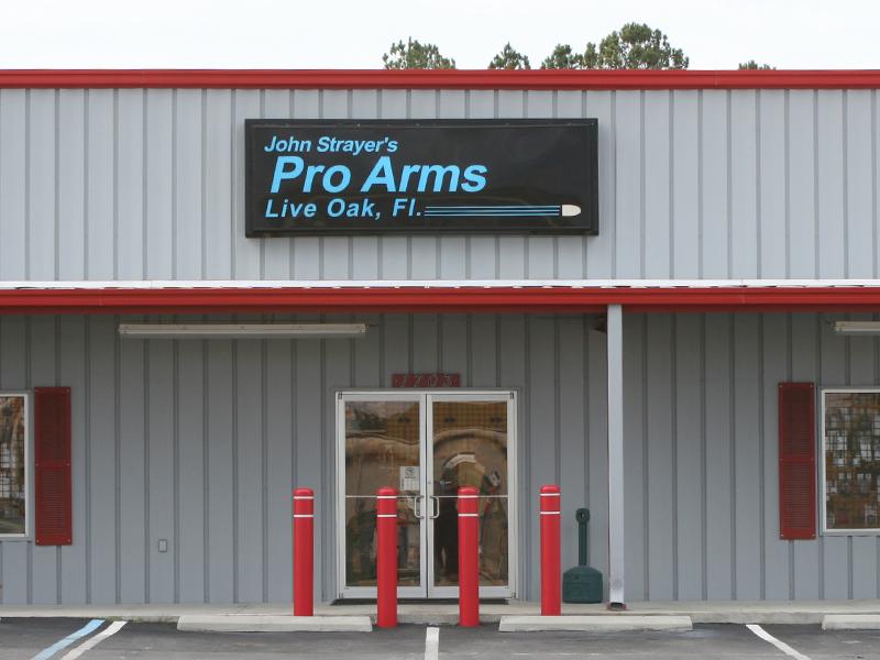 Pro Arms Store, 1703 N. Ohio Ave. Live Oak, FL 32064
